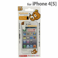 San-X Rilakkuma Protection Sticker for iPhone 4S/4 /SE09101
