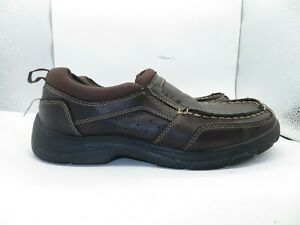 Mens Wrangler Memory Foam Shoes Size 7.5 Loafers Slip on Casual Lightweight