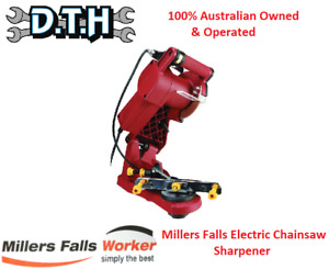 MILLERS FALLS 240V ELECTRIC CHAINSAW SHARPENER