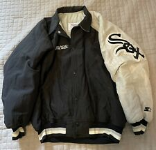New listing Chicago White Sox Quilted Jacket MLB Baseball Warm Starter Made In USA Large