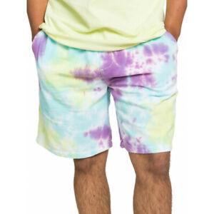 Quiksilver Men's Tie Die Elasticated Lightweight Corduroy Walk Shorts Size:  M