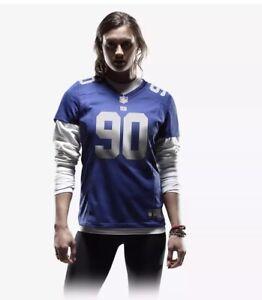 Women's Nike NFL New York Giants Pierre-Paul Football Jersey Size S 469909 404