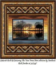 New listing Dream Excape quilt kit Northcott The View From Here Lakeside 74x79