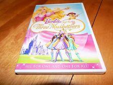 BARBIE AND THE THREE MUSKETEERS Barbie's Adventures Mattel Barbie Story DVD
