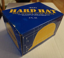 Avon Hard Hat Deep Woods After Shave 4oz Construction Worker Handyman New in Box