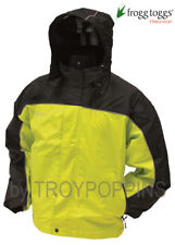 1-FROGG TOGGS RAIN GEAR-NTH65125 JACKET HIGHWAY TOADZ MOTORCYCLE RIDING WET WEAR