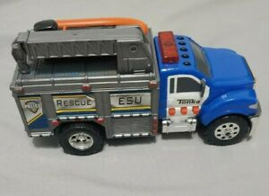 Battery Operated Tonka ESU Rescue Toy Hasbro Lights Up And Makes Noise