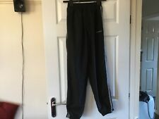 Men's black tracksuit trousers by Donnay size Small NEW