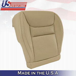 Fits 2001 2002 2003 Toyota Highlander Driver Bottom Perforated Leather Cover Tan