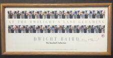 Dwight Baird Signed Litho Poster At Twilight's Last Gleaming Baseball Framed