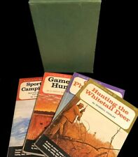 Vintage Set of 4 Outdoor Life Skill Books from in Sleeve - 1965