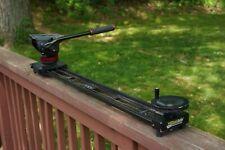 "Kessler Crane Pocket Dolly V2 39"" Camera Slider with Manfrotto 502 tripod head"