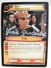 Autographed  2E Rom, Professional Soldier  (Max Grodenchik)