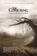 THE CONJURING ORIGINAL Regular DOUBLE SIDED MOVIE FILM POSTER 69x102cm Horror