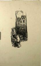 lithographie originalesde Auguste Lepère, Le Marché
