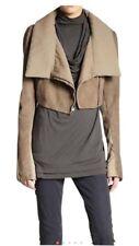 Donna Karan Suede Cropped Jacket Size 6