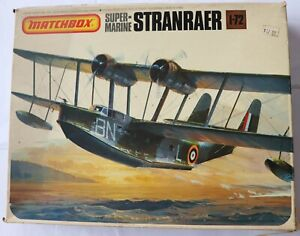 model aircraft kits 1/72 Matchbox Supermarine Stranraer