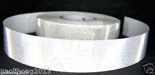 "Silver White Reflective Safety Warning Conspicuity Tape Film Sticker 2""X10'  3M"