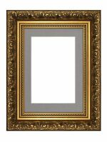 Ornate Swept Antique Style Picture Photo Frames With Mount French Baroque Style