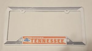 TENNESSEE VOLUNTEERS LADY AUTO PLASTIC LICENSE PLATE FRAME (NOT PERFECT LOOK AT
