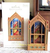 Hallmark Keepsake 2011 LIGHT OF LOVE Window Of Faith 2nd In Series New In Box