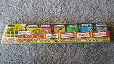 VINTAGE DISNEYLAND EXPRESS WALT DISNEY'S FANTASYLAND CARD GAMES, BAMBI, MICKEY