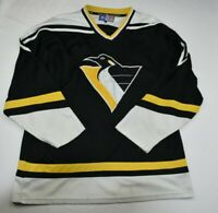 Vintage1990s Pittsburgh Penguins NHL hockey starter Jersey SZ L MENS NHL RARE