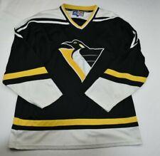 Vintage1990s Pittsburgh Penguins NHL hockey starter Jersey SZ L MENS NHL RARE