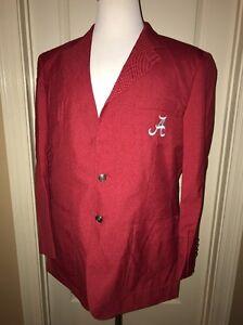 Alabama Crimson Tide Game Day Blazer Sports Coat NEW embroidered Football
