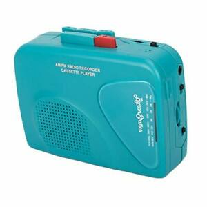 Byron Statics Portable Cassette Players Recorders FM AM Radio Walkman Tape