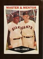 1960 Topps Baseball #7 Master And Mentor NM