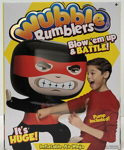 WUBBLE Ball Rumblers Inflatable AIR NINJA Blow Up & Pump Included
