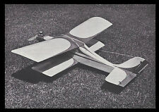 1/2A Schoolgirl trainer and sport Biplane Plans, Templates & Instructions 32ws