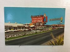 Vintage Postcard Ramada Inn West Pancake Cottage El Paso, Texas Postmarked