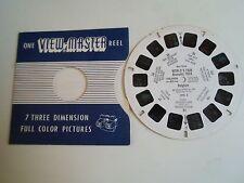 1958 Vintage Sawyers Viewmaster Reel - 1992C WORLD'S FAIR BRUSSELS 1958