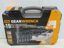 """Gearwrench 19 Pc 1/2"""" Dr Sae Deep Impact Socket Set 84934N"""