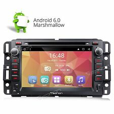 """Android 6.0 7"""" HD Car Stereo DVD Player GPS Navigation for Chevrolet GMC Buick E"""