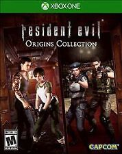 XBOX ONE RESIDENT EVIL ORIGINS COLLECTION BRAND NEW VIDEO GAME