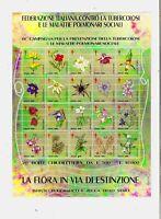 ERINNOFILIA - CROCE ROSSA ITALIANA -  Foglietto da 20 erinnofili - perfetto