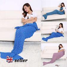 Mermaid Tail Cartoons & Characters Bed Blankets