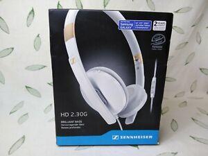 Sennheiser HD 2.30G Headphones White Compatible w/Samsung Galaxy
