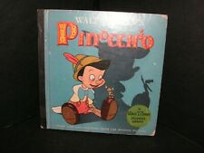 Vintage (1939/1940) Walt Disney's Pinocchio Hardcover Book