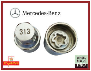 New Mercedes Benz Locking Wheel Nut Key Number 313 - UK Seller