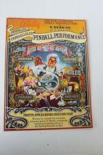 Original Bally Pinball Machine Mystic- Flyer, Ad Sales Brochure