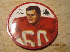 1964 NALLEY'S #31 PAT HOLMES Football Coin Western Conference