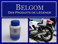 BELGOM CHROME, DONNEZ DE L' ECLAT ET DE LA PROTECTION A VOS CHROMES. MOTO 250 ml