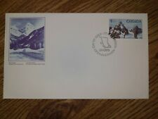 CANADA FDC 1984 GLACIER NATIONAL PARK $1 FV STAMP BEAUTIFUL COVER