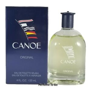 CANOE ORIGINAL by DANA for MEN * 4/4.0 oz. (120 ml) EDT Splash * NEW & SEALED
