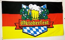 "Oktoberfest Holiday Banner 3' X 5' Quality Fly Flag Fall German ""USA Seller"""