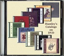10 Hamley's Catalogs on DVD - 1915,'25,'27,'29,'32,'35,'36,'38,'40,'47 - Saddles